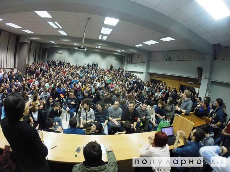 Студентскиот пленум ја прекинува автономната зона - од утре студентите на настава
