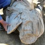 ФОТОГАЛЕРИЈА: На локалитетот Скупи откриена статуа од 2 век