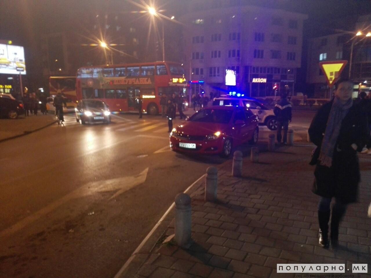 Познат идентитетот на возачот кој прегази девојче на Партизанска: Побегнал, па се пријавил во полиција