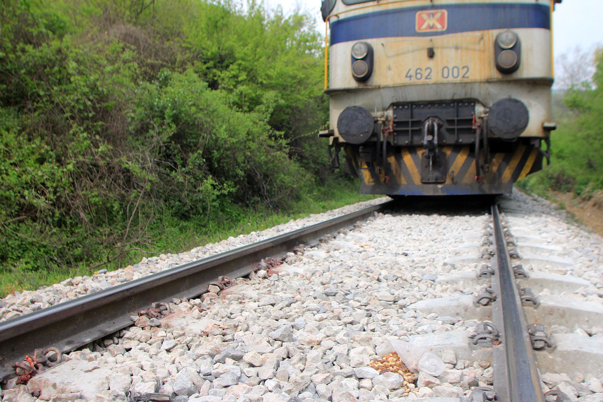 Нова железничка несреќа: Воз удри мигрант во Илинден