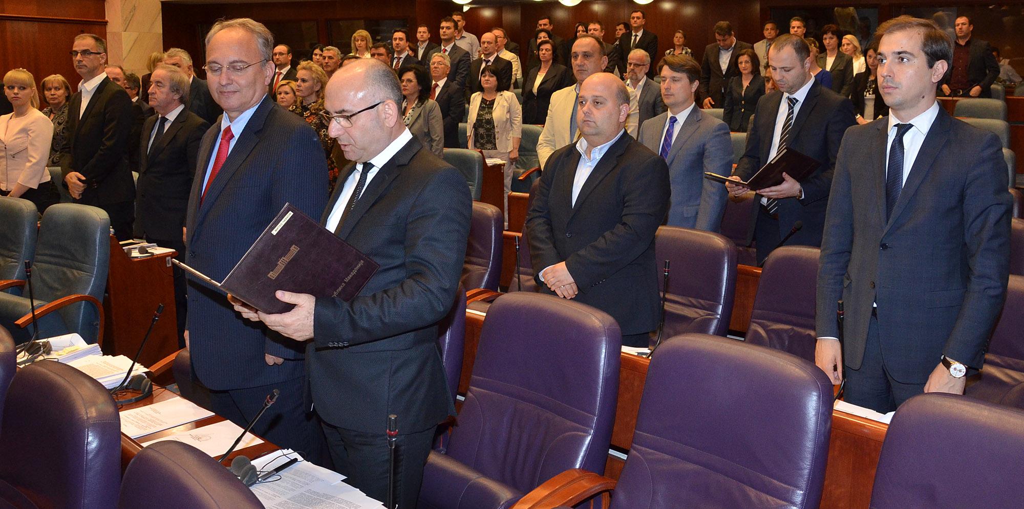 Чавков и Мисајловски - нови министри за внатрешни работи и транспорт и врски