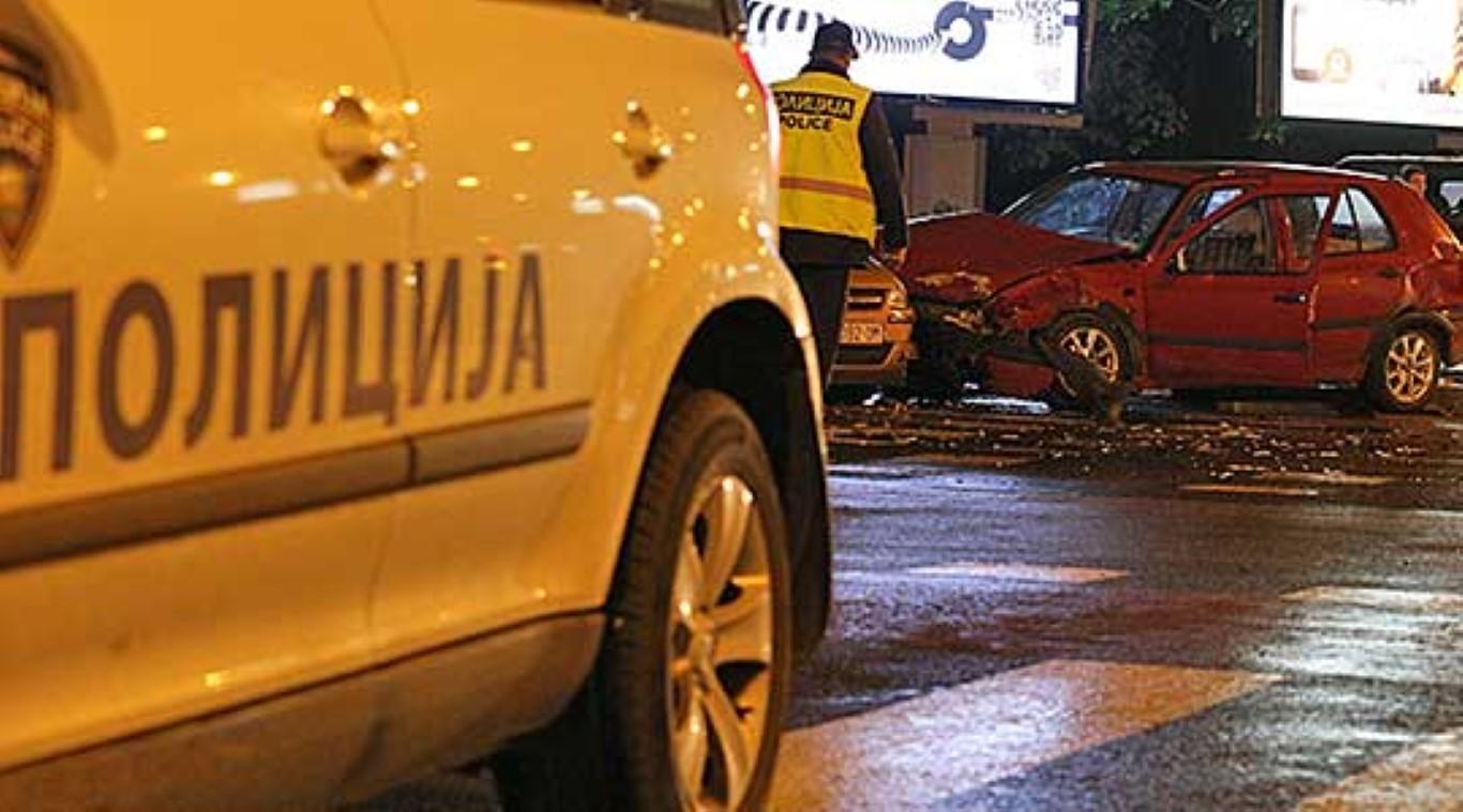 Осум повредени во 12 сообраќајки за 24 часа во Скопје