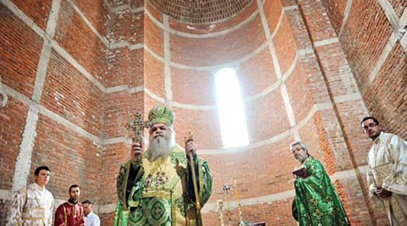 """Прва литургија во црквата """"Свети Константин и Елена"""""""