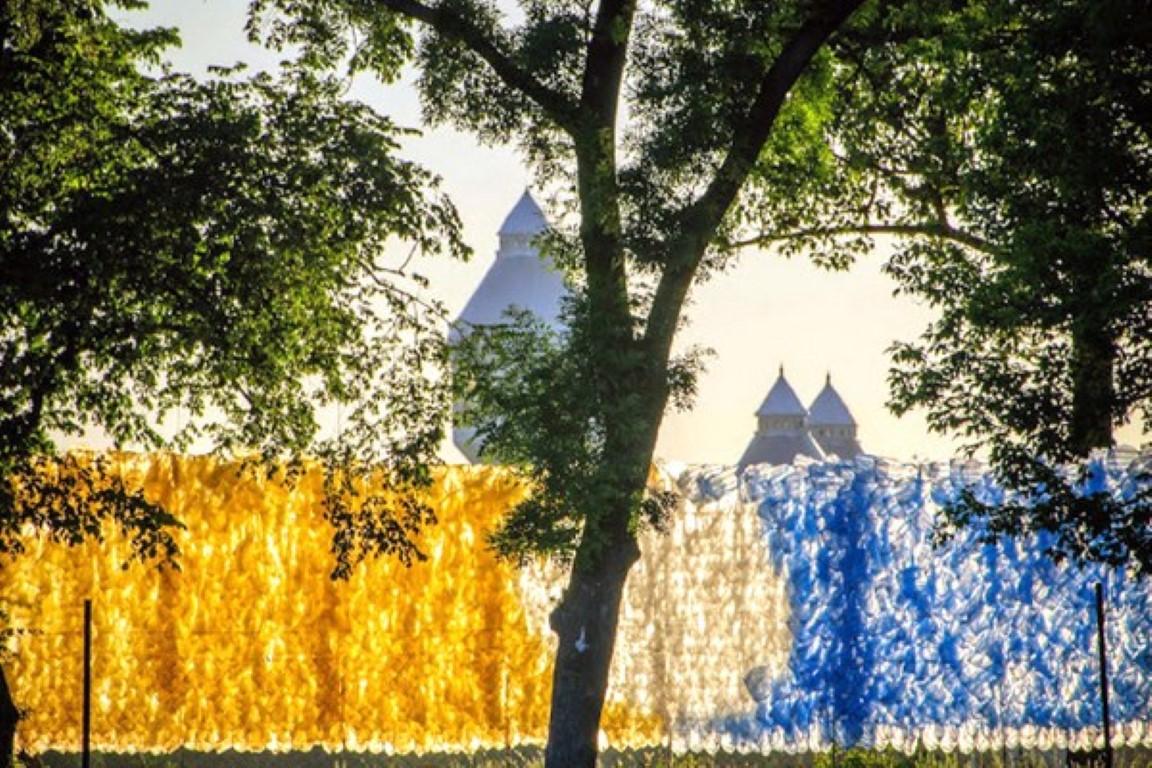 Ѕид од пластични кеси во Будимпешта