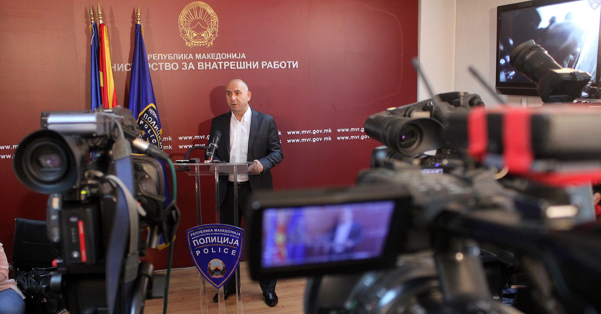 Приведени девет лица во антитерористичката акција на МВР