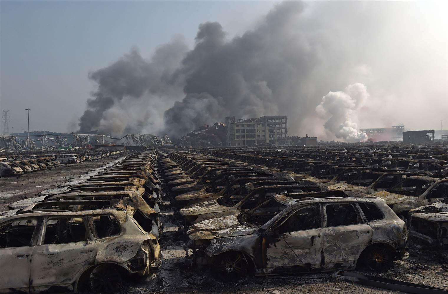 Експлозија во Тјенцин: Билансот на загинатите се зголеми на 50 лица