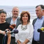 """Филмска бркотница на обиколницата на Скопје: Започна снимањето на филмот """"А Фонд"""""""