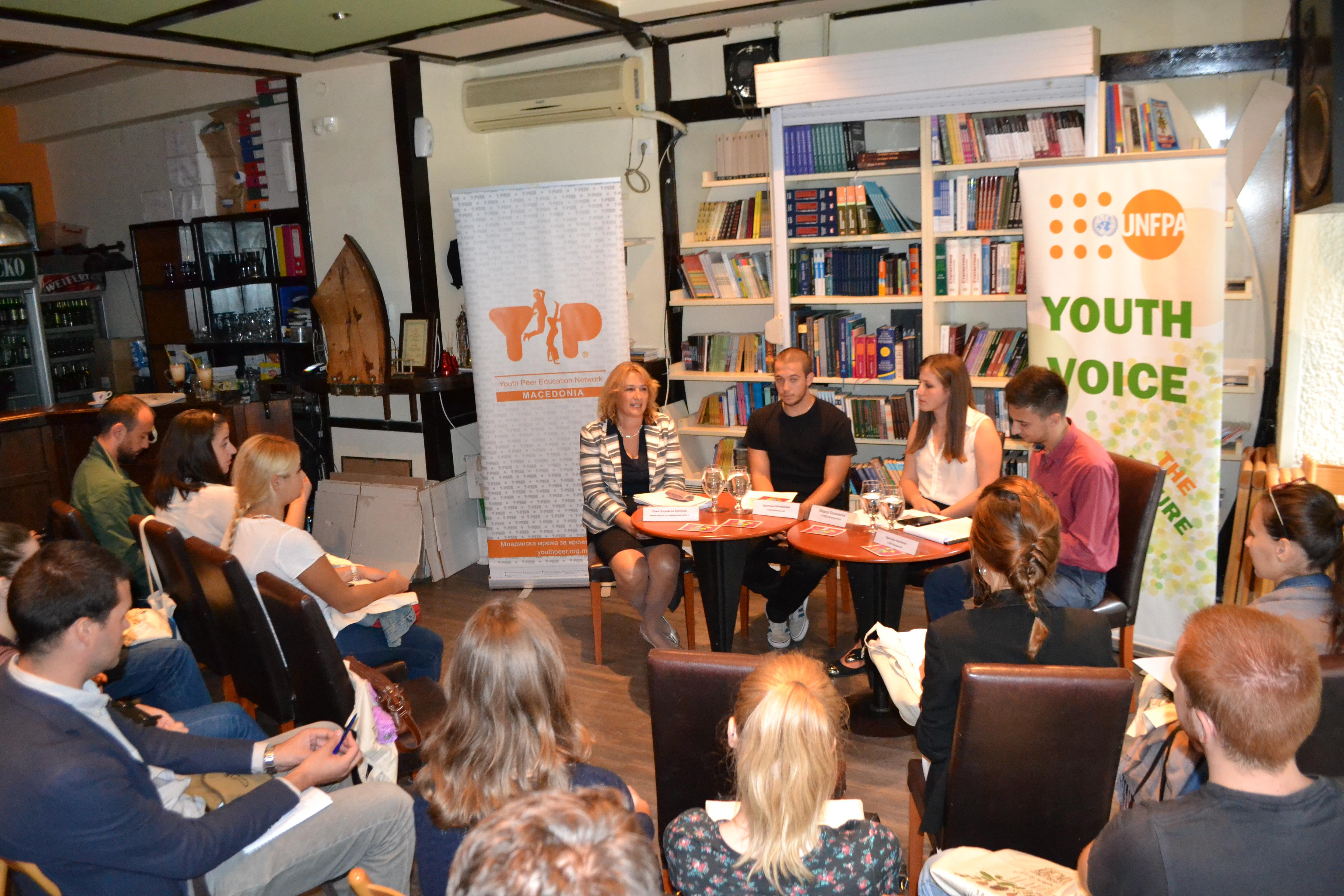 Младите со свои пораки до македонската делегација  на Генералното собрание на ОН