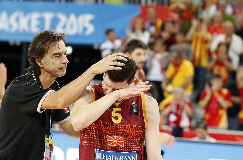 ФОТО: Македонија го заврши настапот на ЕП во кошарка