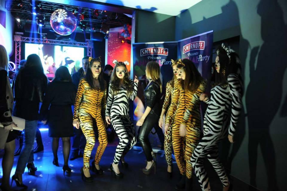 Вечерва журка за паметење: Smirnoff Animal Party во клубот ХО