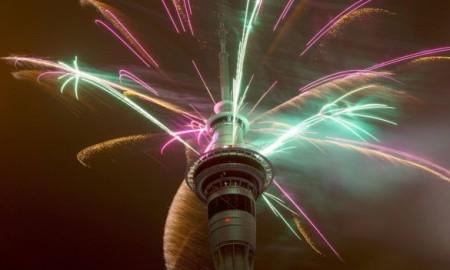 НОВА ГОДИНА ШИРУМ СВЕТОТ: Меѓу првите во 2016 влегоа Нов Зеланд и Австралија