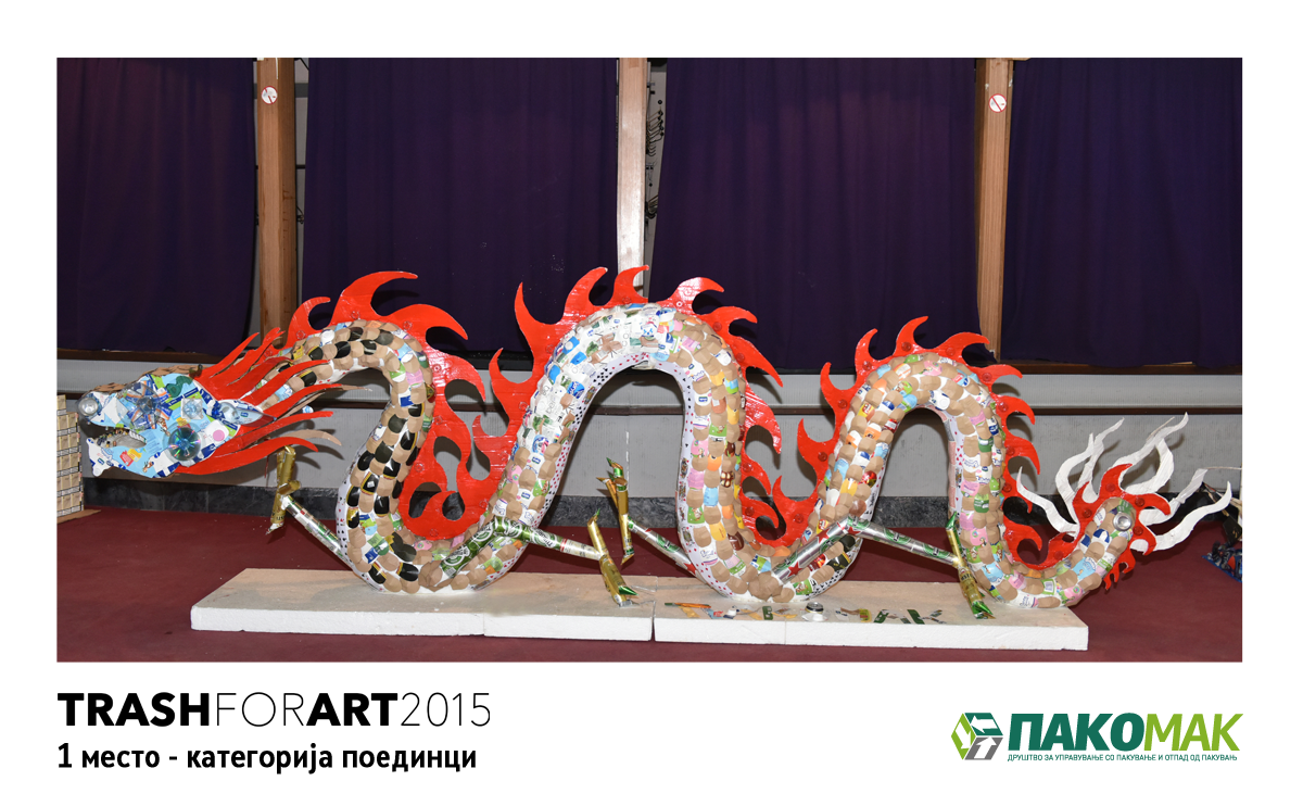 Доделени наградите од конкурсот Trash for Art 2015