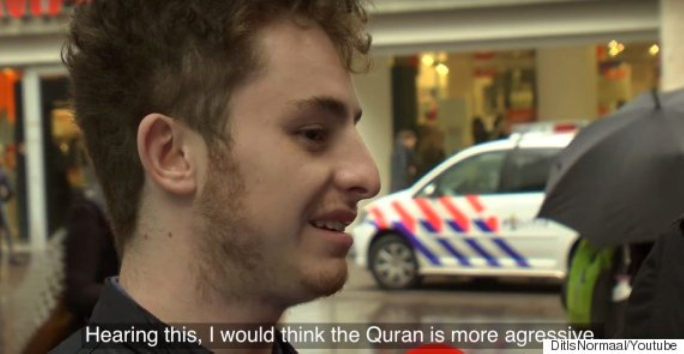 Подметнале Библија во корици од Куран - резултатите ги откриваат предрасудите