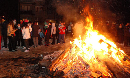Кампања за заштита од пожари од бадникови огнови
