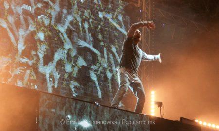 НОВИ САД СЕ ТРЕСЕШЕ: Дејвид Гета се поклони пред публиката на Егзит! (ФОТО+ВИДЕО)