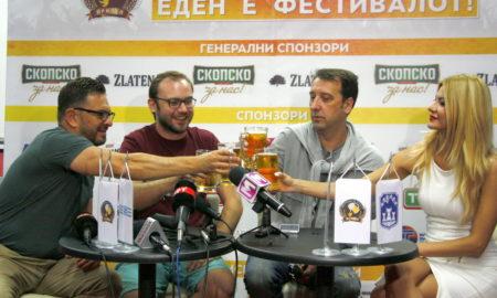 И вечерва богата програма на фестивалот на пивото во Прилеп