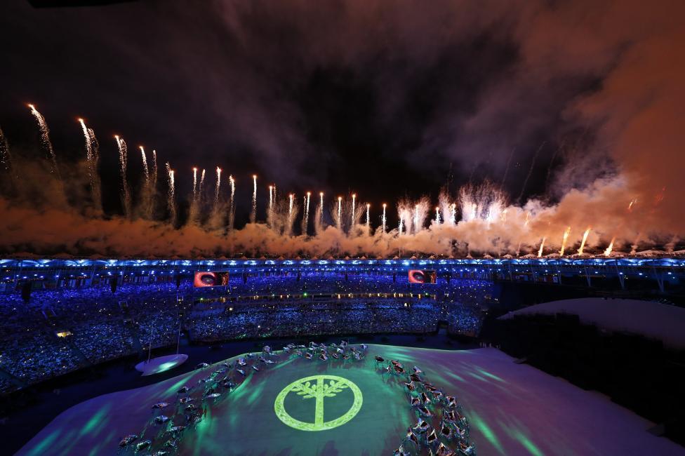 2016 Rio Olympics - Opening ceremony