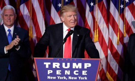 Доналд Трамп е 45. претседател на САД