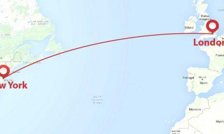 ЗА СИТЕ КОИ ПАТУВААТ ПРЕКУ ОКЕАНОТ: Од Лондон до Њујорк за само три часа? (ВИДЕО)