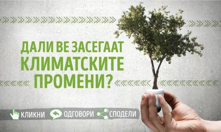 ИСТРАЖУВАЊЕ: Дали сте засегнати од климатските промени?