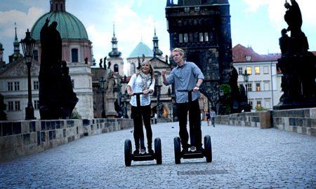 Во Прага забрането возење сегвеј