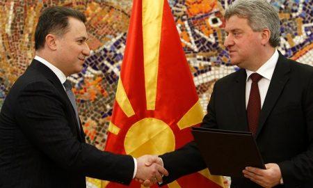 Груевски го враќа мандатот - Иванов треба да го избере новиот мандатар