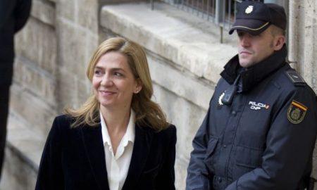 Шпанската принцеза Кристина ослободена од обвинението за даночно затајување