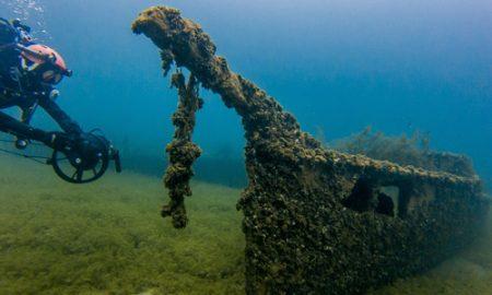 Охридско Езеро крие седум потонати бродови