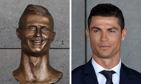 Статуата на Роналдо во Мадеира ќе биде заменета со нова и поубава