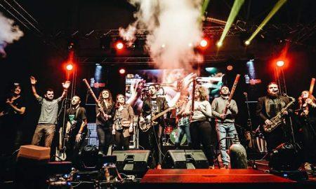Музички спектакл на Суперхикс во Скопје (ФОТО)
