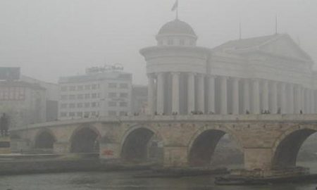 Воздухот загаден во Скопје, измерени над 600 микрограми