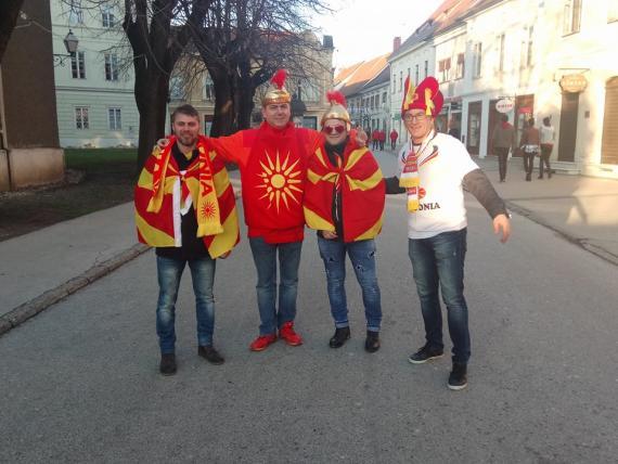 """ВАРАЖДИН """"ВРИЕ"""" ОД МАКЕДОНЦИ: """"Црвено-жолтите"""" подготвени за дуелот против Шпанија"""