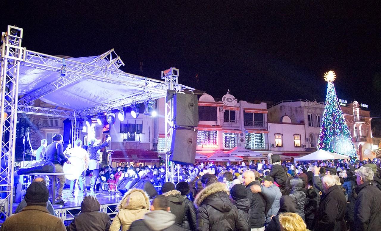 Концерт на Љубојна за Стара Нова година во Охрид (ФОТО)