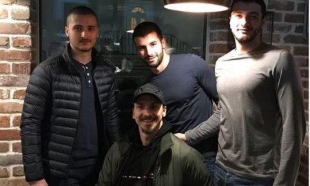 Златан Ибрахимовиќ на гости во Штип (ФОТО)