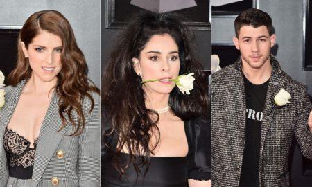 На Греми наградите, уметниците носеа бели рози
