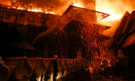 Кинески научници создале градежен материјал отпорен на оган