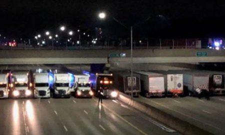 Камионџии помогнаа да се спречи обид за самоубиство