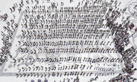 Со звуците на Штраус, матурантите традиционално одиграа квадрил (ФОТОГАЛЕРИЈА)