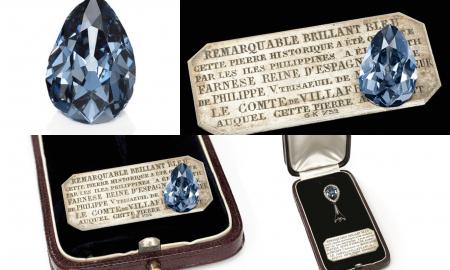 Редок син дијамант продаден за 6,7 милиони долари