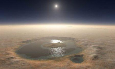 Солено езеро пронајдено под површината на Марс