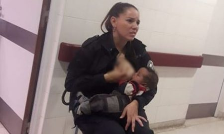 Полицајка од Аргентина надои болно бебе во болницата каде што работи