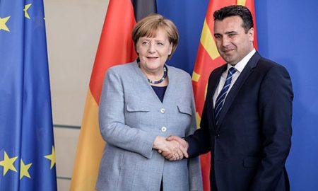Меркел во посета на Македонија на 27-годишнината од независноста