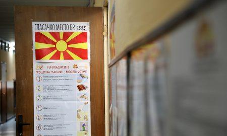 Граѓаните на референдум се изјаснуваат за членство во НАТО и ЕУ и Договорот со Грција